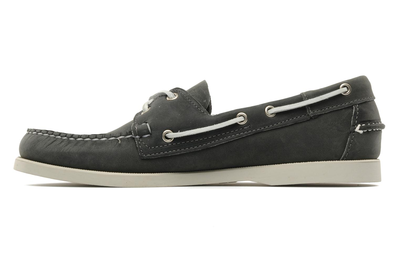 Lace-up shoes Sebago Docksides M Grey front view