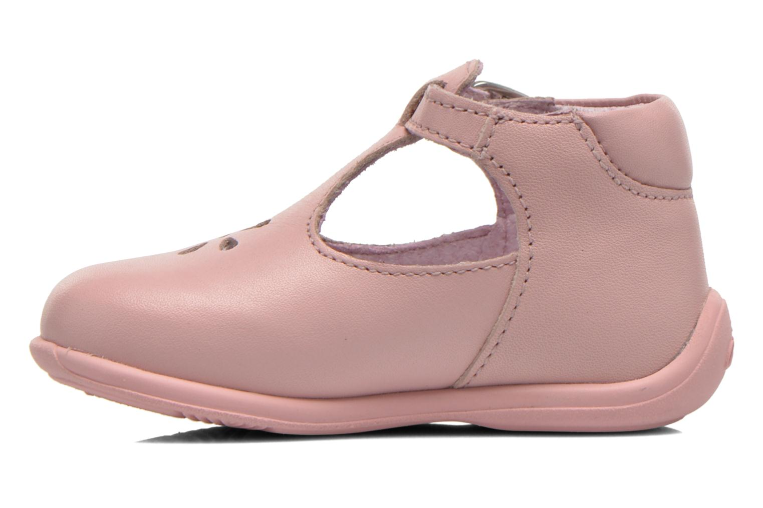 Bottines d'été Aster Odjumbo Rose vue face