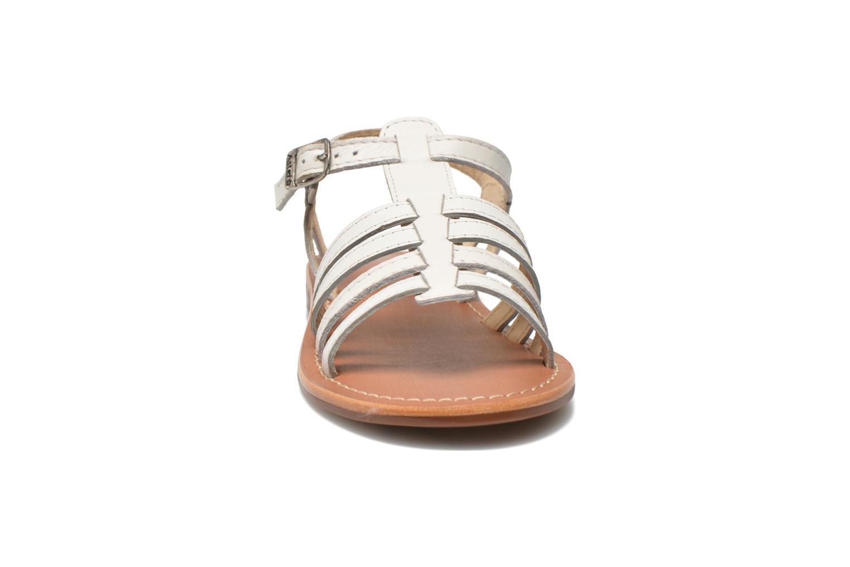 Sandales et nu-pieds Aster Vibride Blanc vue portées chaussures