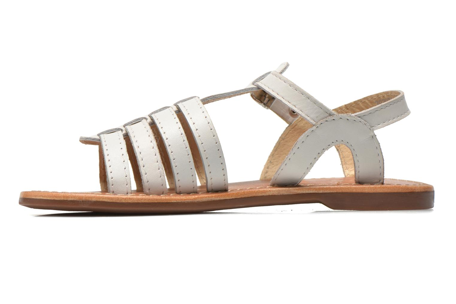 Sandals Aster Vibride White front view