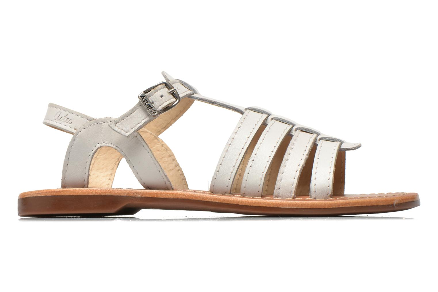 Sandals Aster Vibride White back view