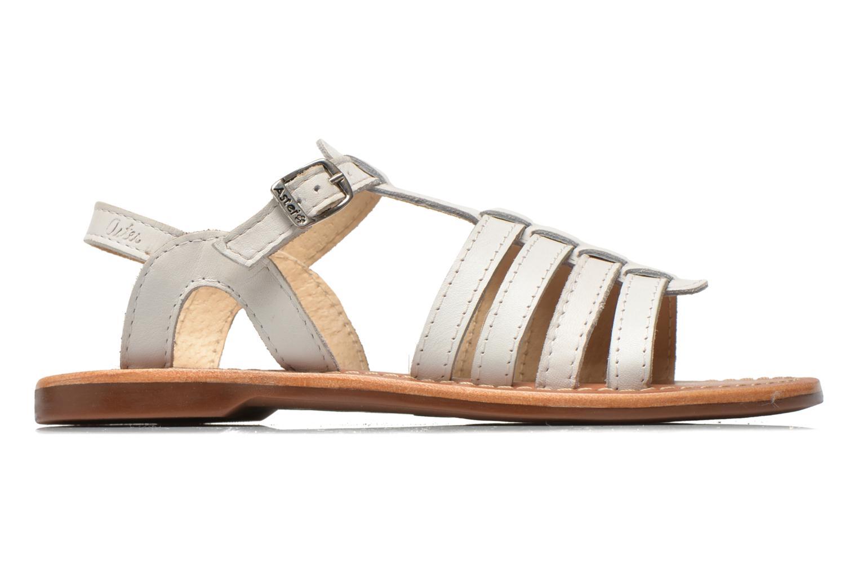 Sandales et nu-pieds Aster Vibride Blanc vue derrière
