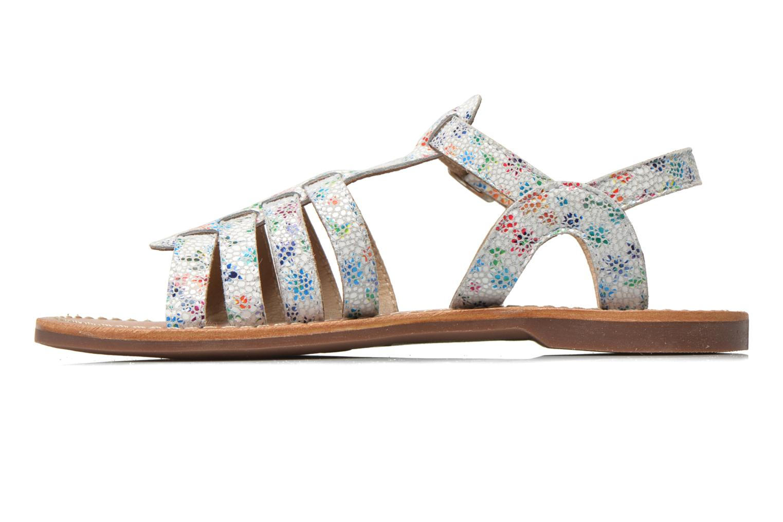Sandales et nu-pieds Aster Vibride Blanc vue face