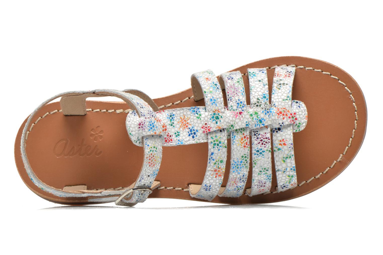 Sandales et nu-pieds Aster Vibride Blanc vue gauche
