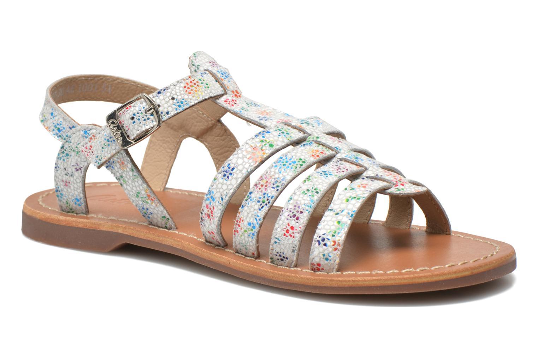Sandales et nu-pieds Aster Vibride Blanc vue détail/paire