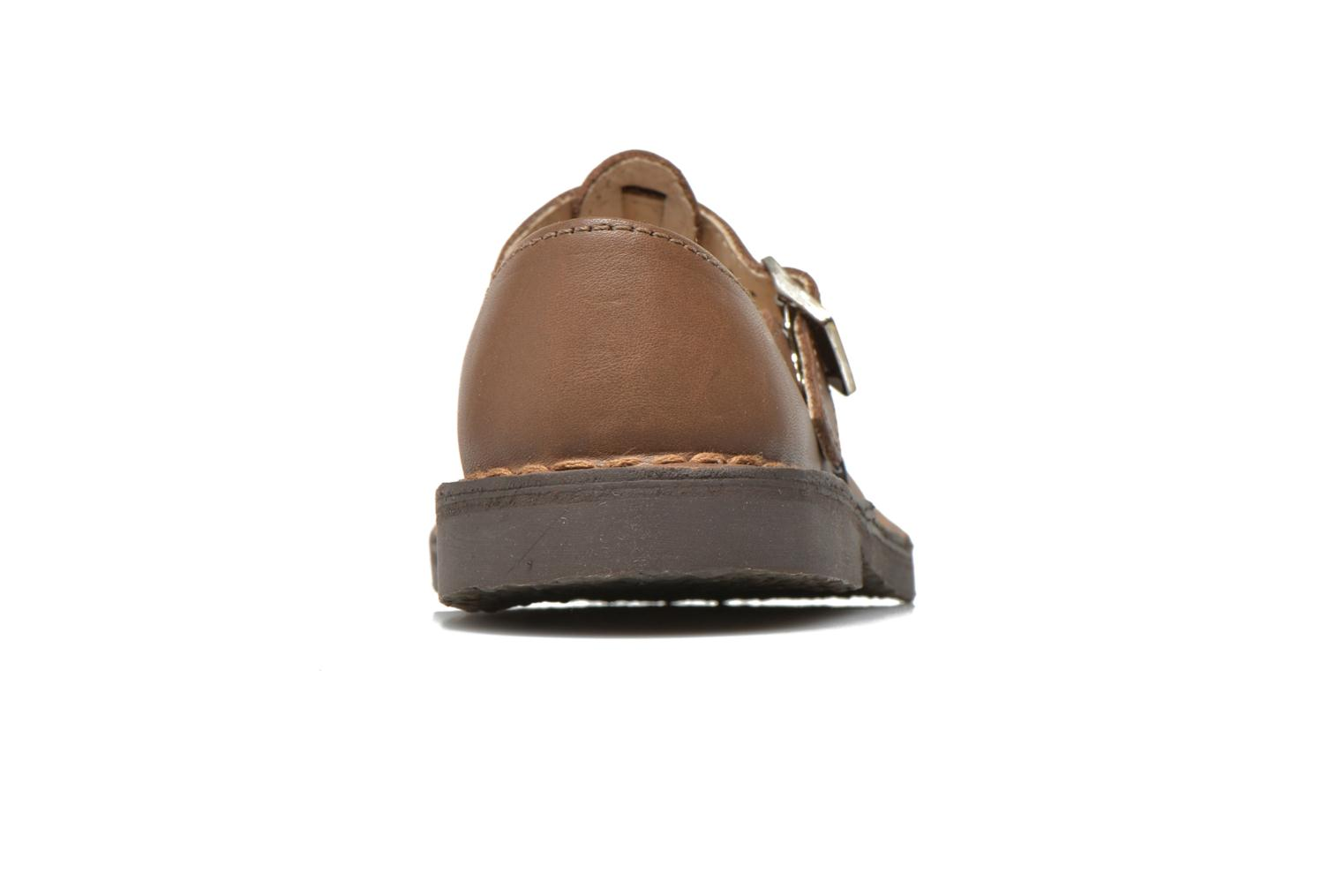 Ballet pumps Aster Dingo Brown view from the right