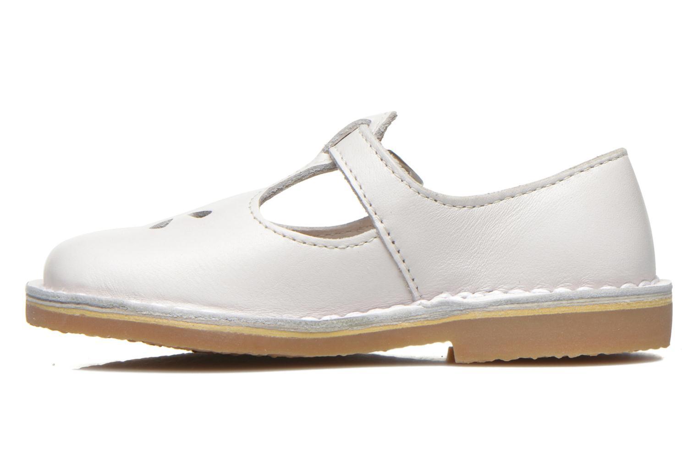 Ballerina's Aster Dingo Wit voorkant