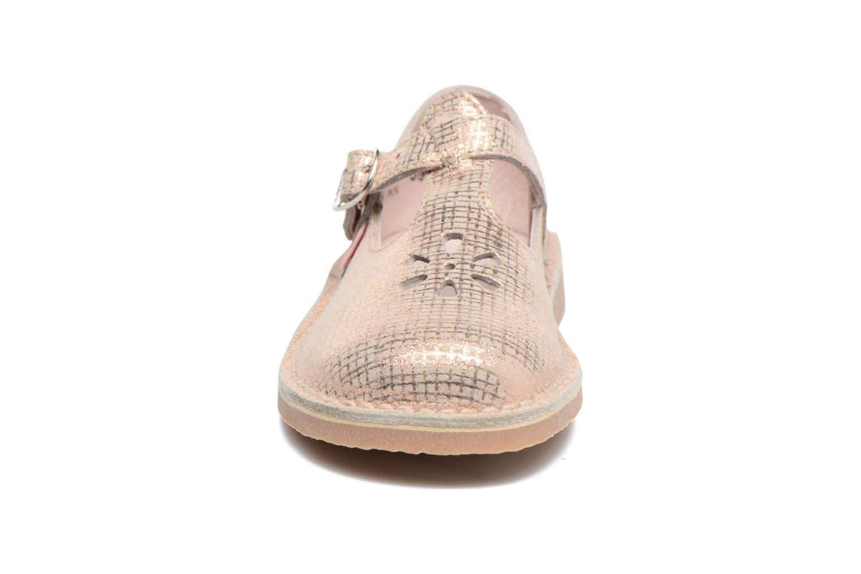 Ballerinas Aster Dingo rosa schuhe getragen