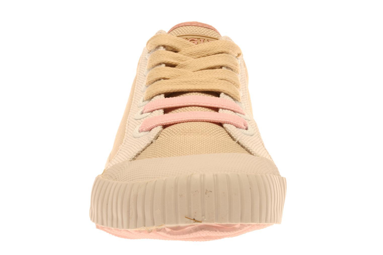 Baskets Aigle Skudd W Beige vue portées chaussures