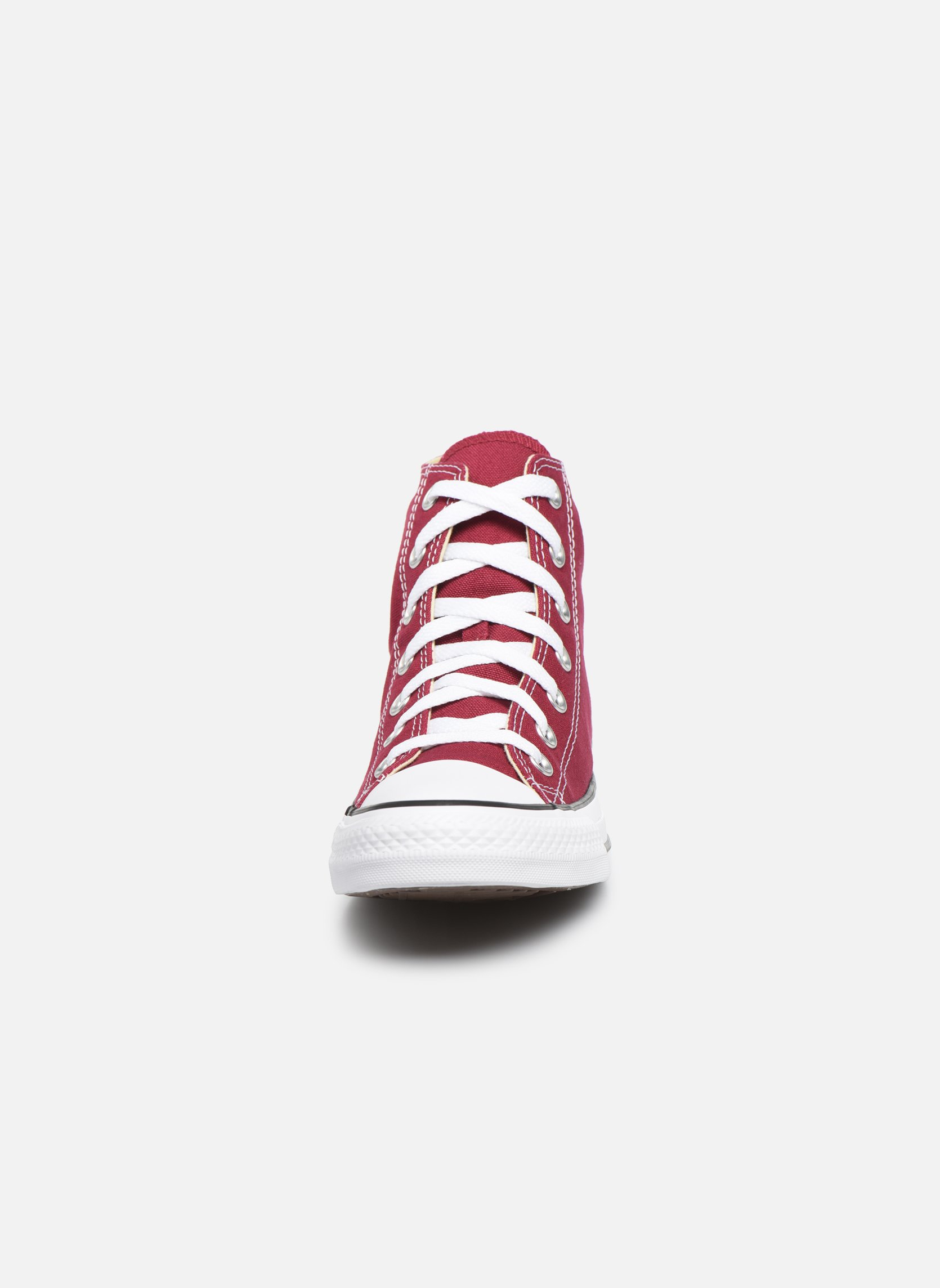 Sneakers Converse Chuck Taylor All Star Hi W Bordò modello indossato