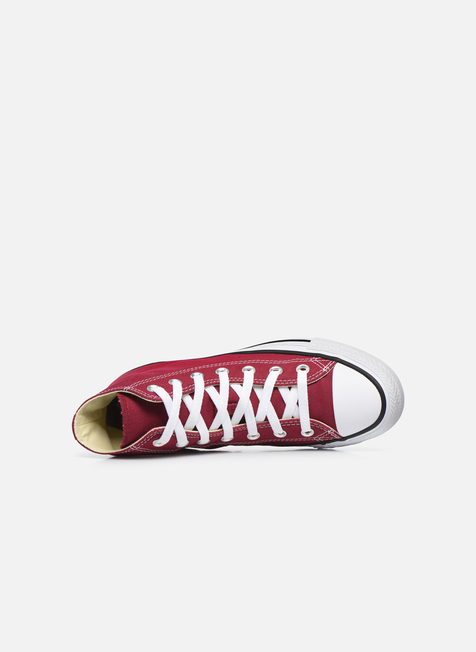 Sneakers Converse Chuck Taylor All Star Hi W Bordeaux se fra venstre