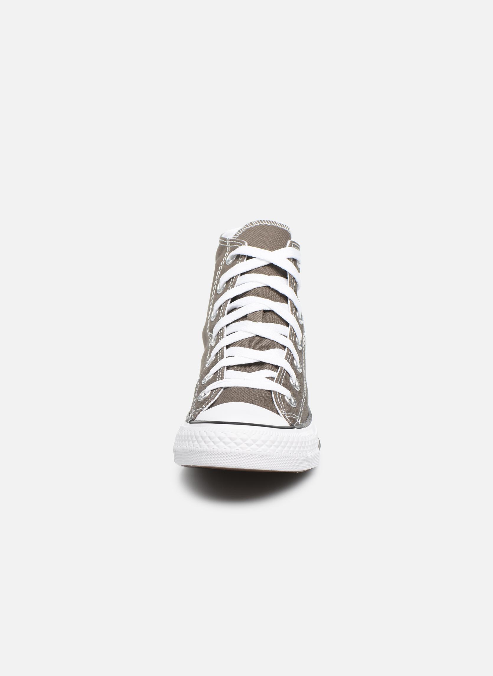 Sneakers Converse Chuck Taylor All Star Hi W Grigio modello indossato