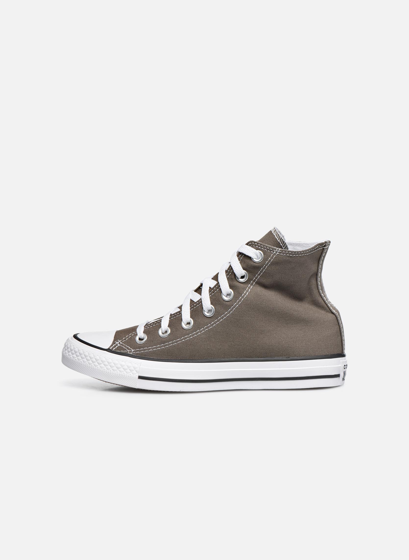 Sneakers Converse Chuck Taylor All Star Hi W Grigio immagine frontale