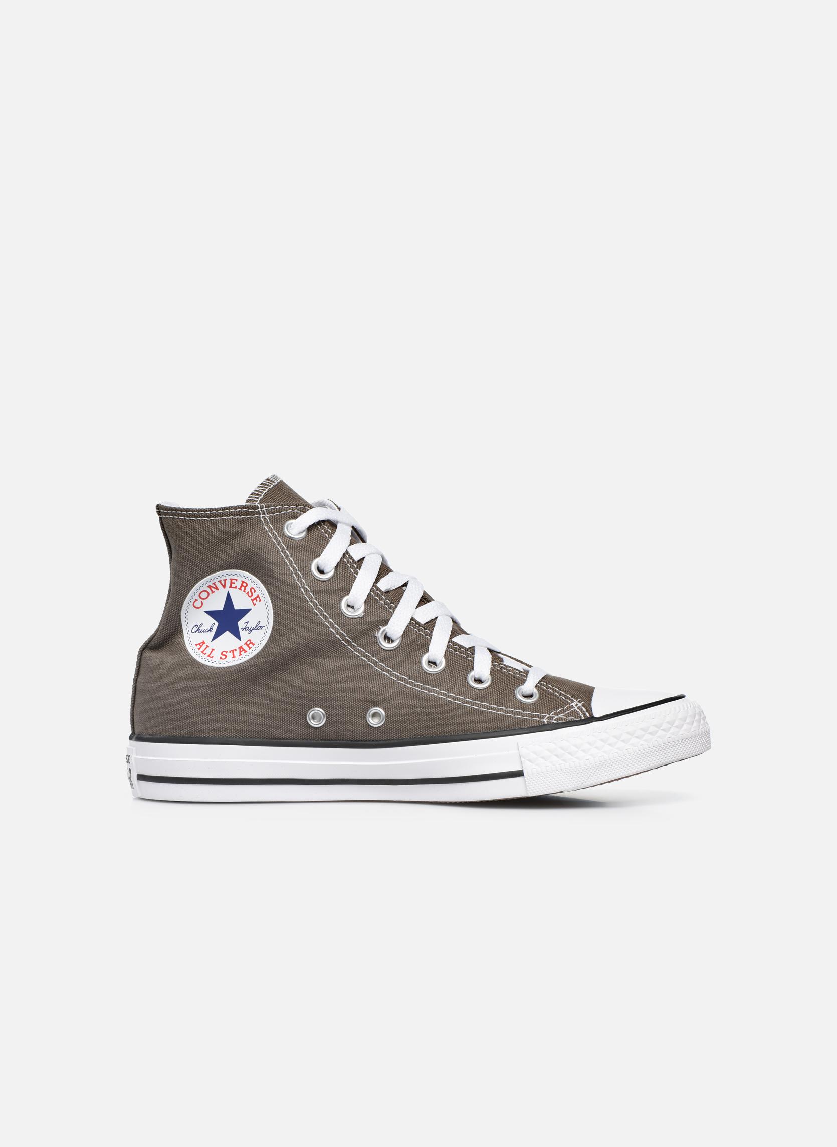 Sneakers Converse Chuck Taylor All Star Hi W Grigio immagine posteriore