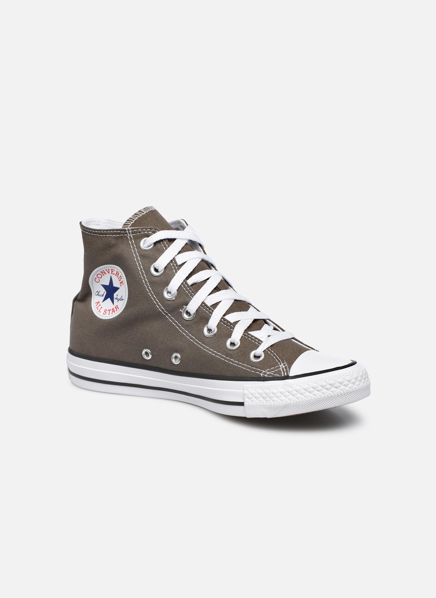 Sneakers Converse Chuck Taylor All Star Hi W Grigio vedi dettaglio/paio