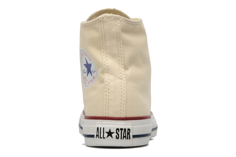 Baskets Converse Chuck Taylor All Star Hi W Beige vue droite