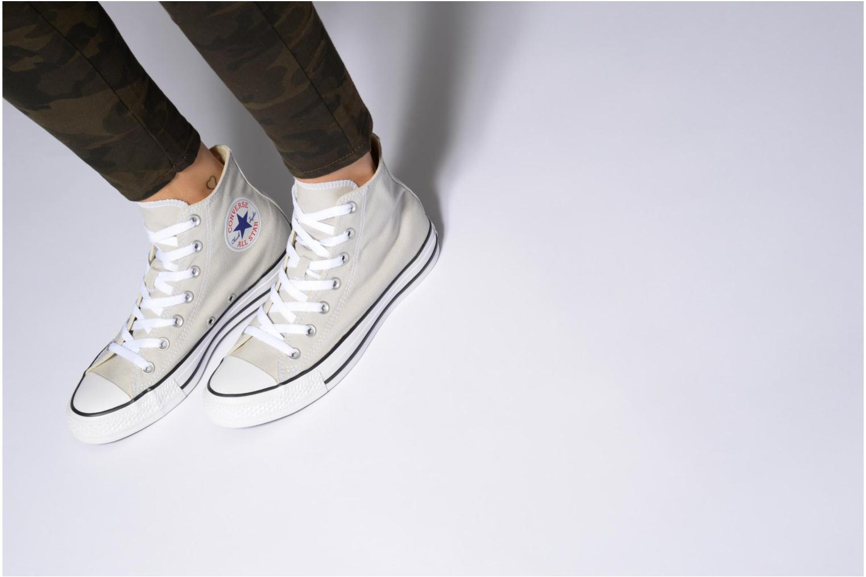 Sneaker Converse Chuck Taylor All Star Hi W grün ansicht von unten / tasche getragen