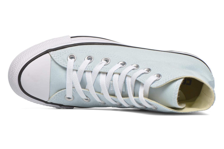 Sneaker Converse Chuck Taylor All Star Hi W grün ansicht von links