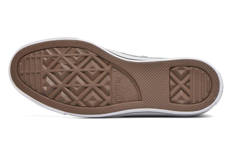 Sneaker Converse Chuck Taylor All Star Hi W grün ansicht von oben