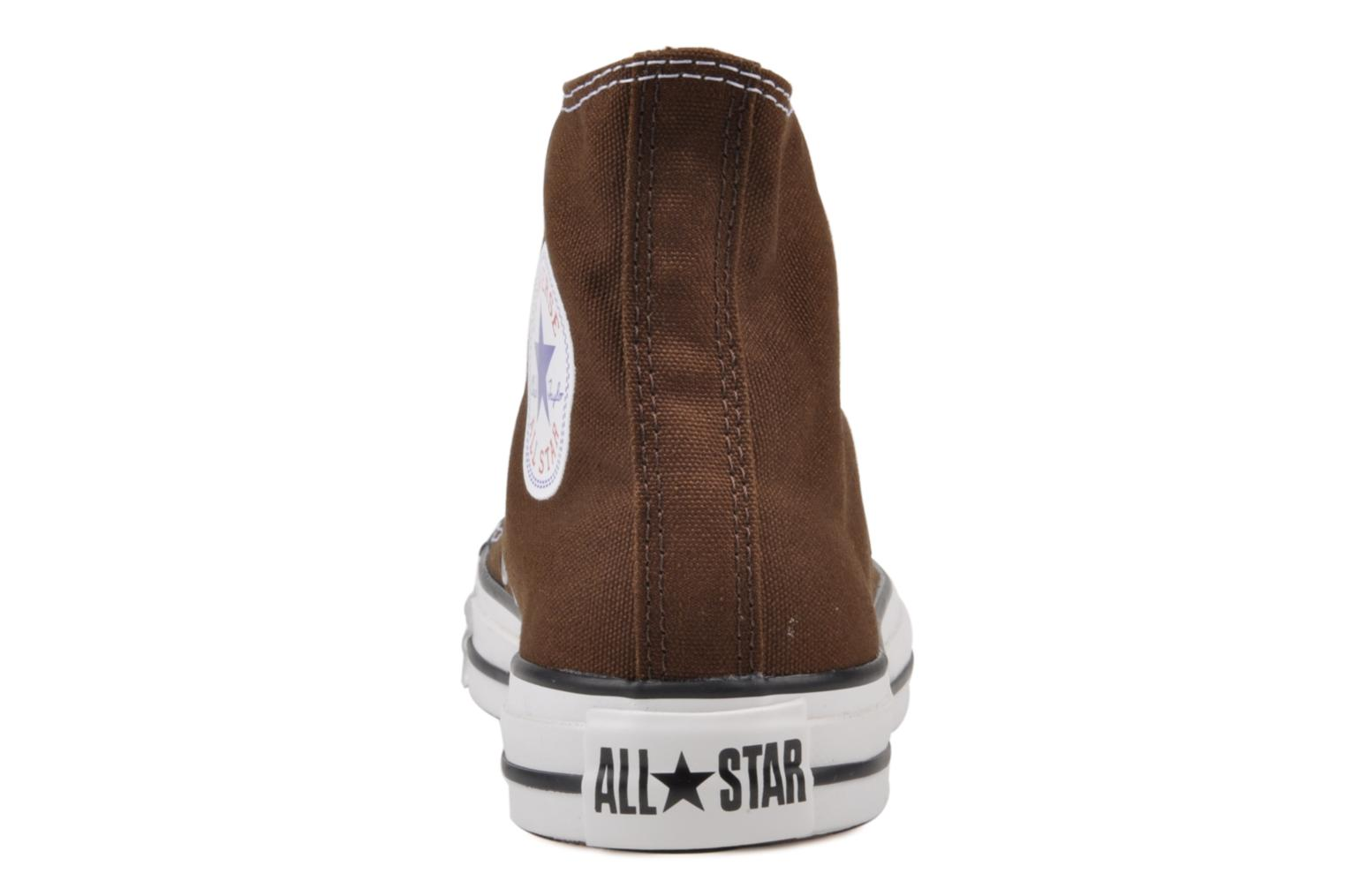 Sneakers Converse Chuck Taylor All Star Hi W Marrone immagine destra