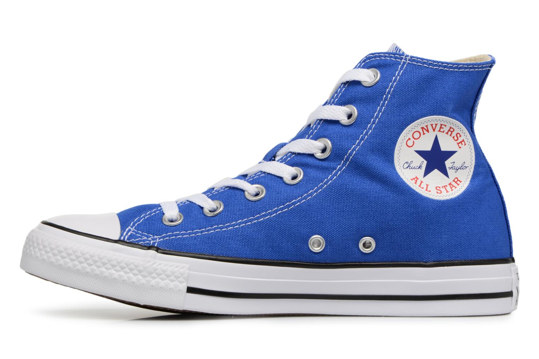 Baskets Converse Chuck Taylor All Star Hi W Bleu vue face