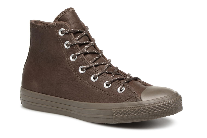 Zapatos de mujer baratos zapatos de mujer Converse Chuck Taylor All Star Hi W (Marrón) - Deportivas en Más cómodo