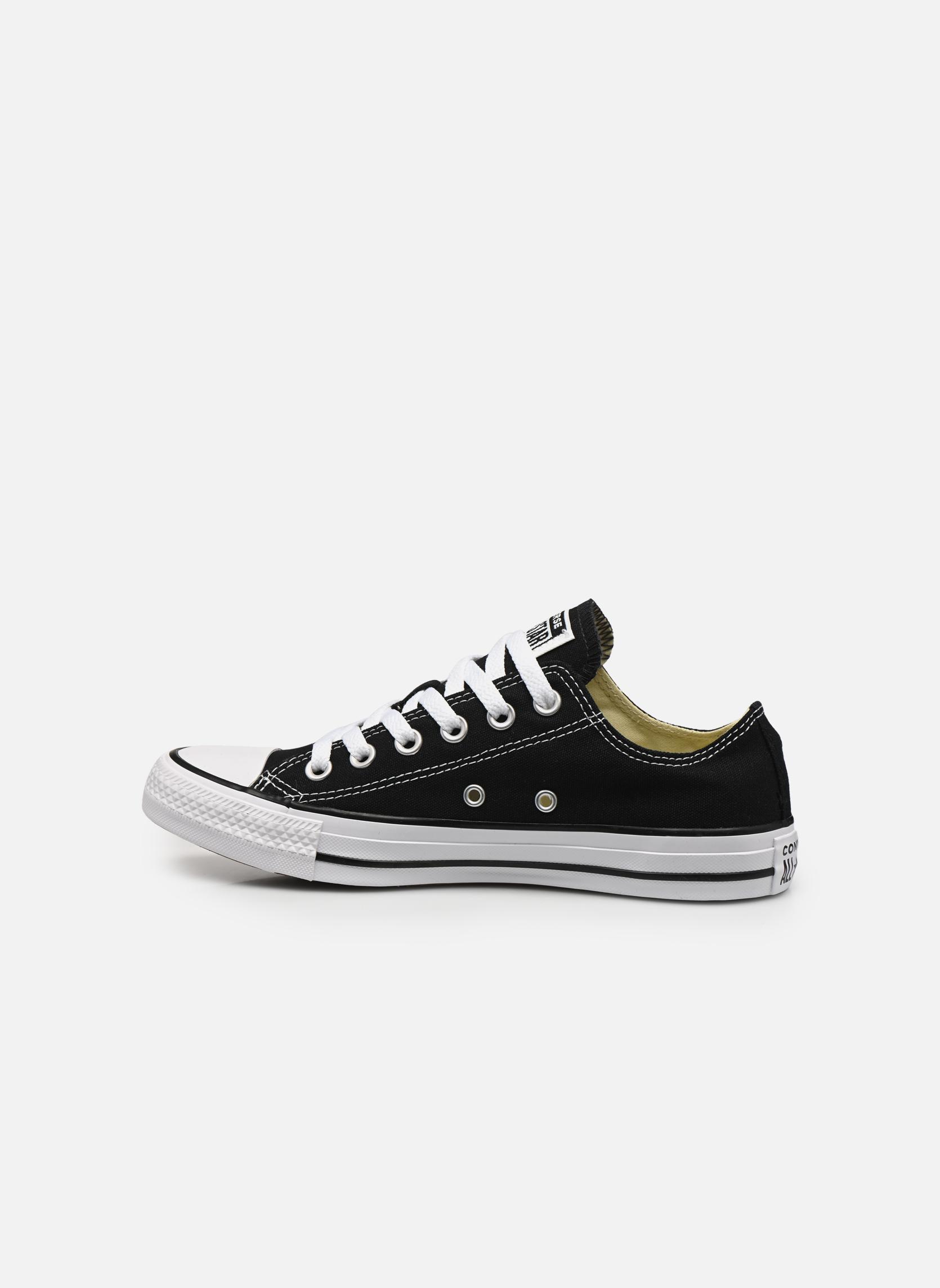 Sneakers Converse Chuck Taylor All Star Ox W Zwart voorkant
