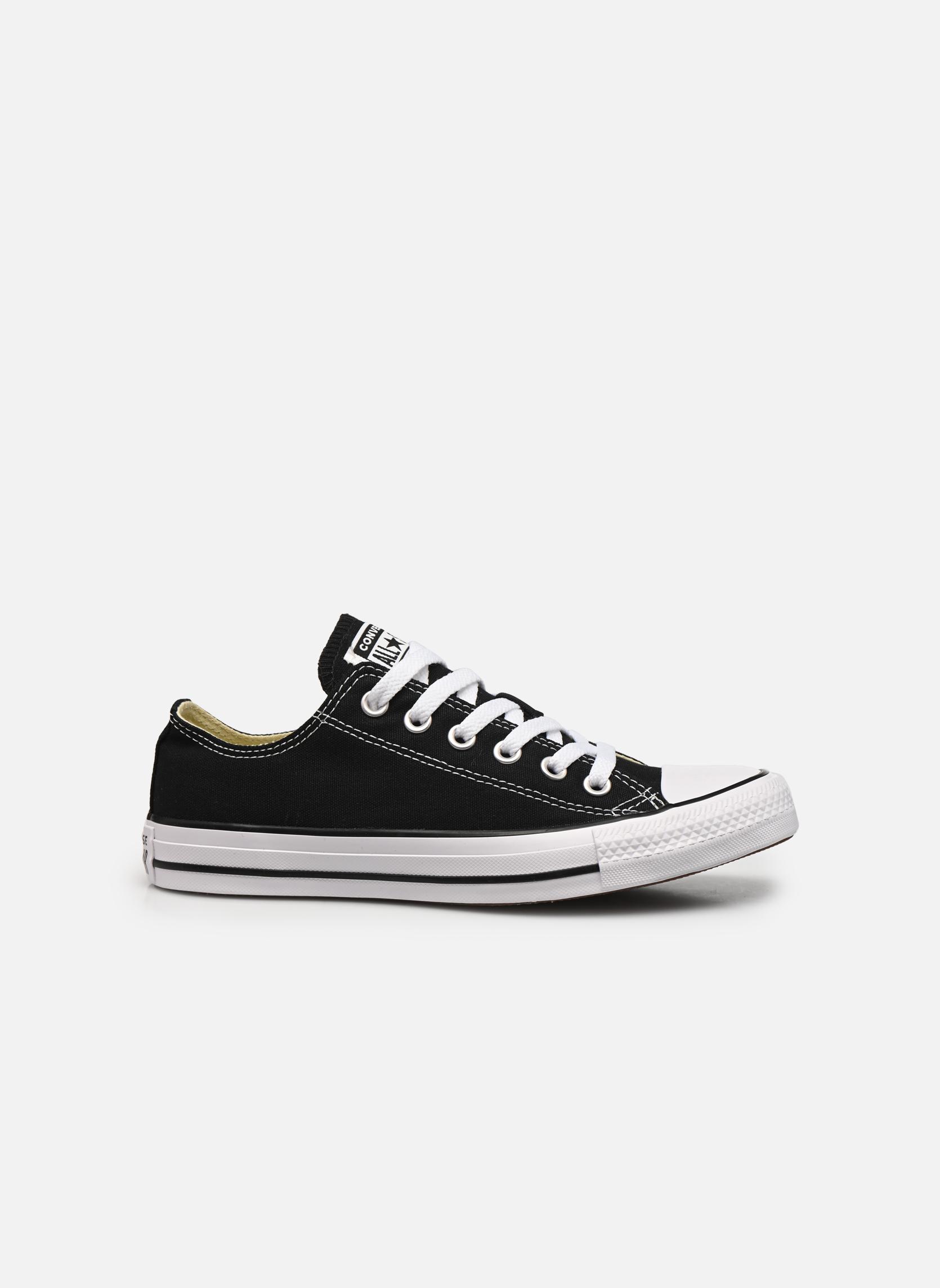 Sneakers Converse Chuck Taylor All Star Ox W Zwart achterkant