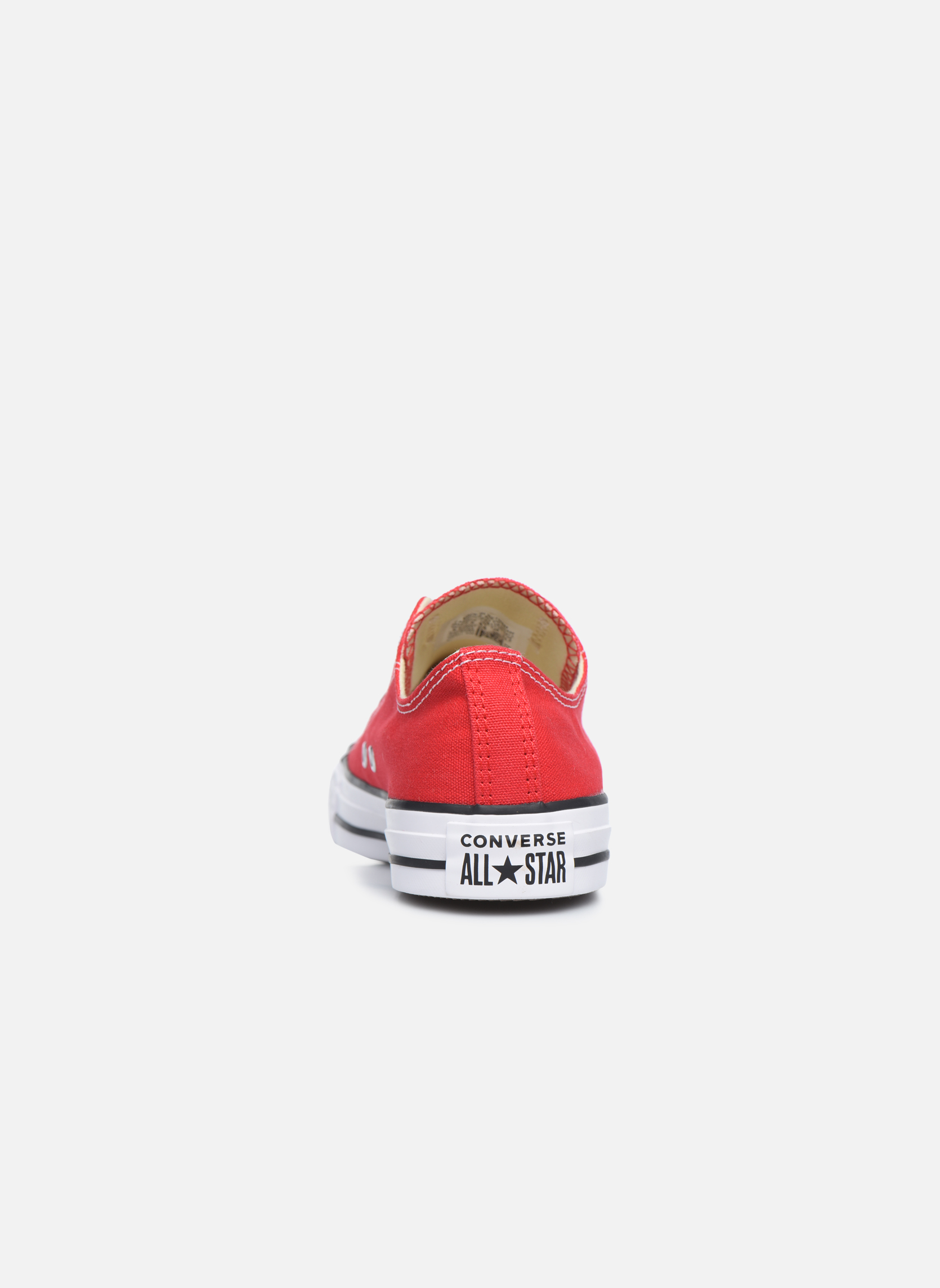 Sneakers Converse Chuck Taylor All Star Ox W Rosso immagine destra