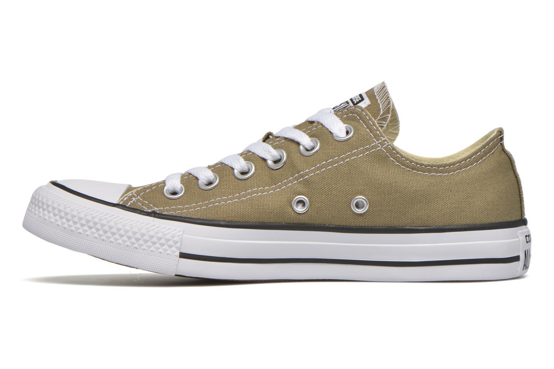 Sneaker Converse Chuck Taylor All Star Ox W grün ansicht von vorne