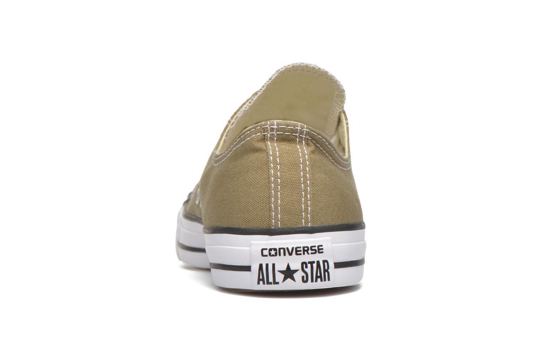 Sneaker Converse Chuck Taylor All Star Ox W grün ansicht von rechts