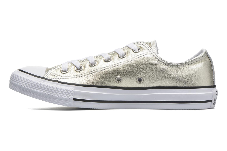 Sneakers Converse Chuck Taylor All Star Ox W Goud en brons voorkant