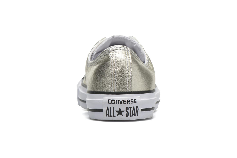 Sneakers Converse Chuck Taylor All Star Ox W Goud en brons rechts