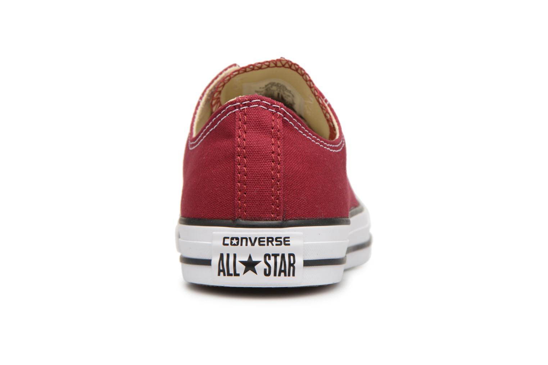 Baskets Converse Chuck Taylor All Star Ox W Bordeaux vue droite