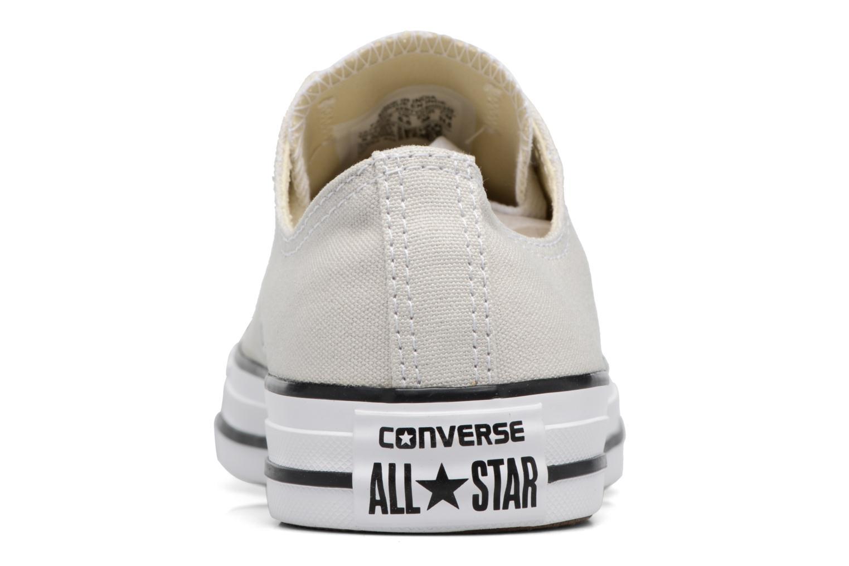 Baskets Converse Chuck Taylor All Star Ox W Beige vue droite