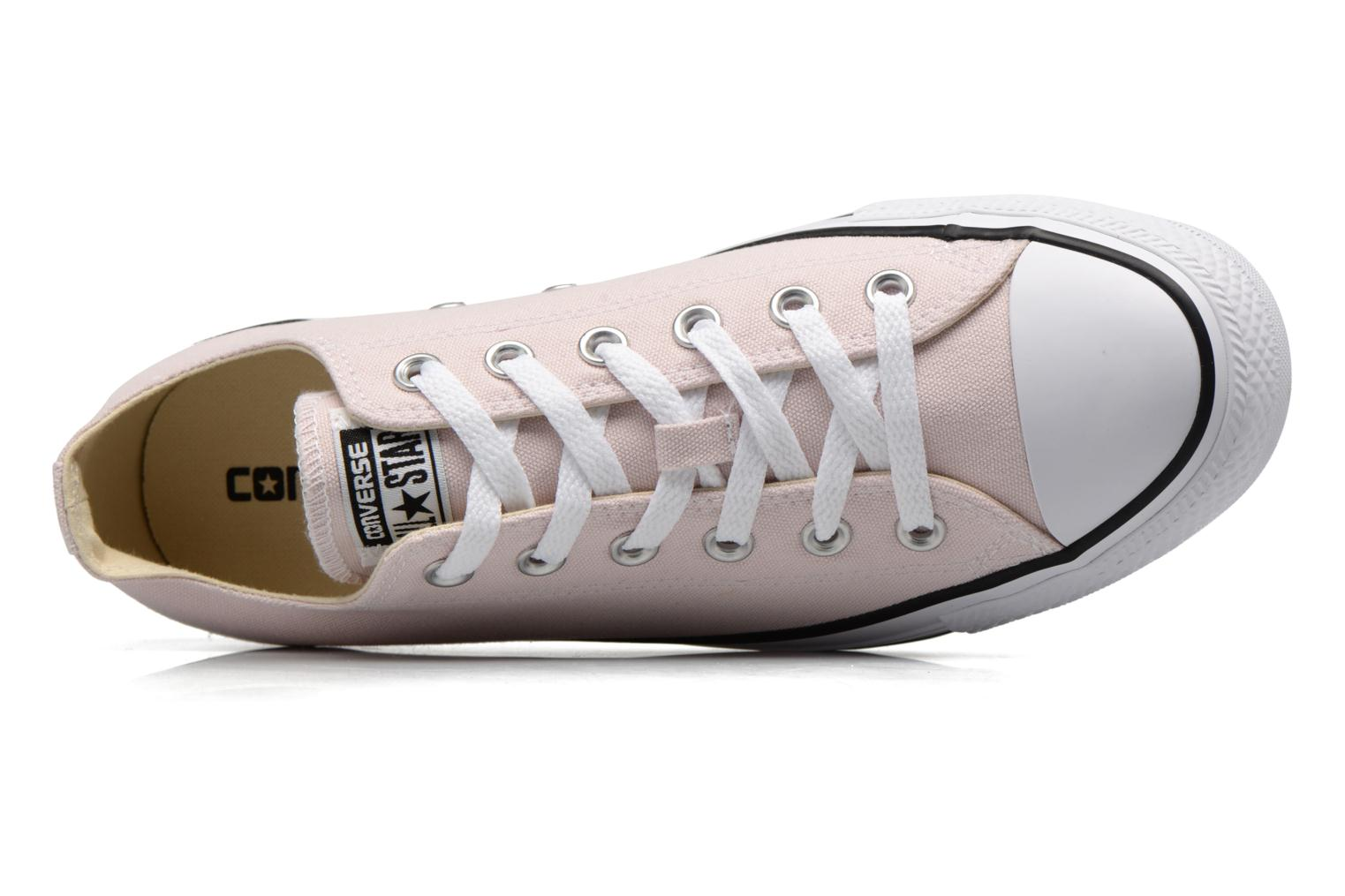 Baskets Converse Chuck Taylor All Star Ox W Rose vue gauche