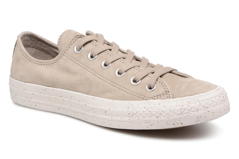 Zapatos promocionales Converse Chuck Taylor All Star Ox W (Marrón) - Deportivas   Cómodo y bien parecido