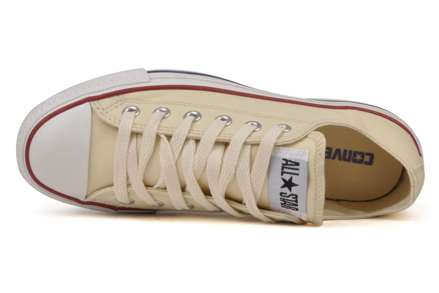 Trainers Converse Chuck Taylor All Star Ox W Beige view from the left