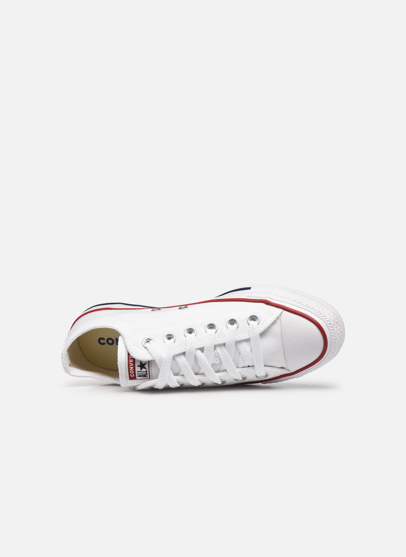 Baskets Converse Chuck Taylor All Star Ox W Blanc vue gauche