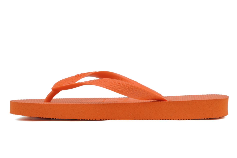 Tongs Havaianas Top F Orange vue face