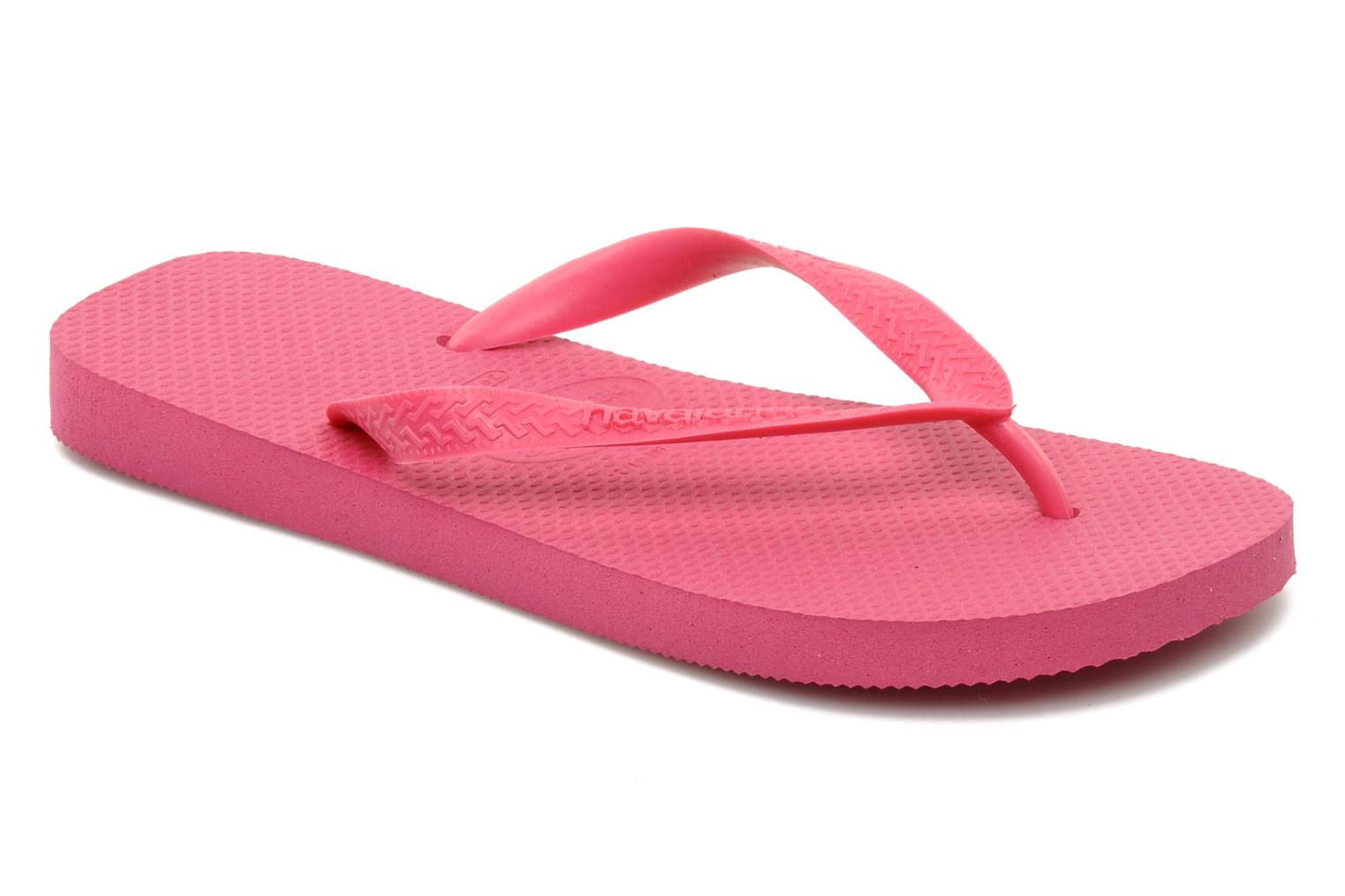 Tongs Havaianas Top F Rose vue détail/paire