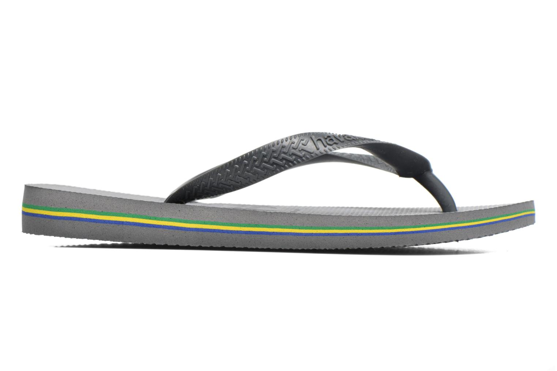 Flip flops Havaianas Brazil Femme Grey back view