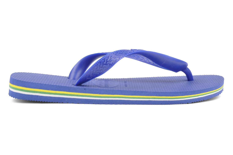 Tongs Havaianas Brazil Femme Bleu vue derrière