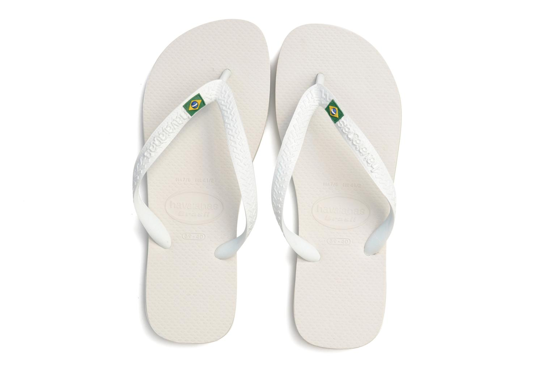 Slippers Havaianas Brazil Femme Wit 3/4'