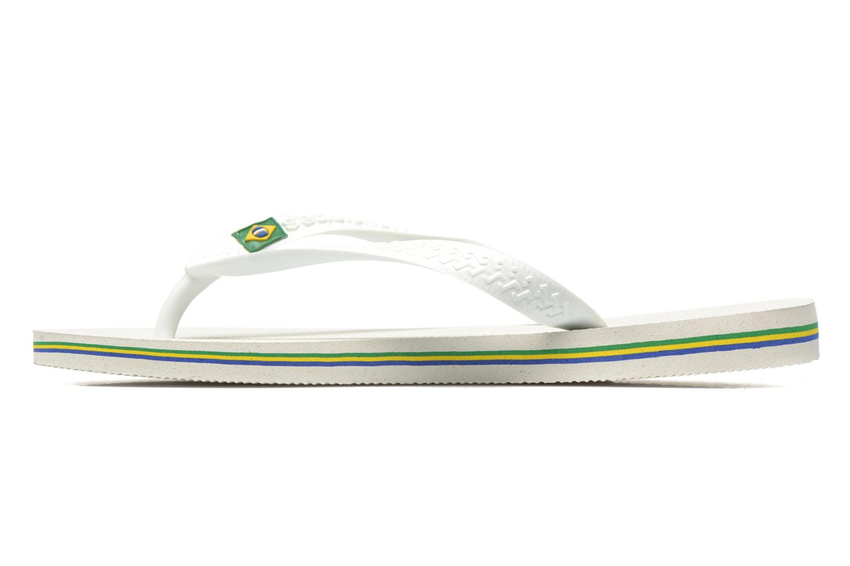 Slippers Havaianas Brazil Femme Wit voorkant