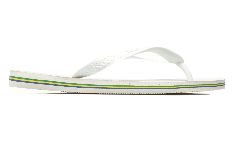 Slippers Havaianas Brazil Femme Wit achterkant