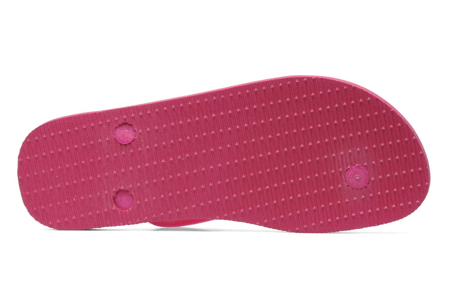 Flip flops Havaianas Tradicional Femme Pink view from above