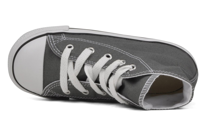 Sneaker Converse Chuck Taylor All Star Hi K grau ansicht von links