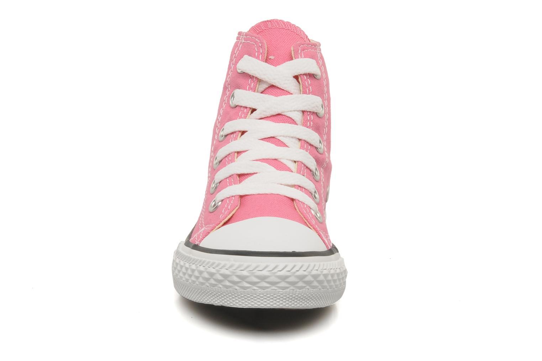 Sneaker Converse Chuck Taylor All Star Hi K rosa schuhe getragen