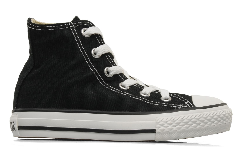 Sneaker Converse Chuck Taylor All Star Hi K schwarz ansicht von hinten